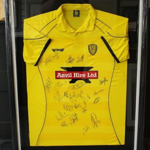 Burton Albion FC signed shirt