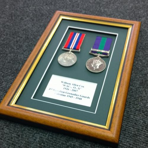 Two World War Two Medals