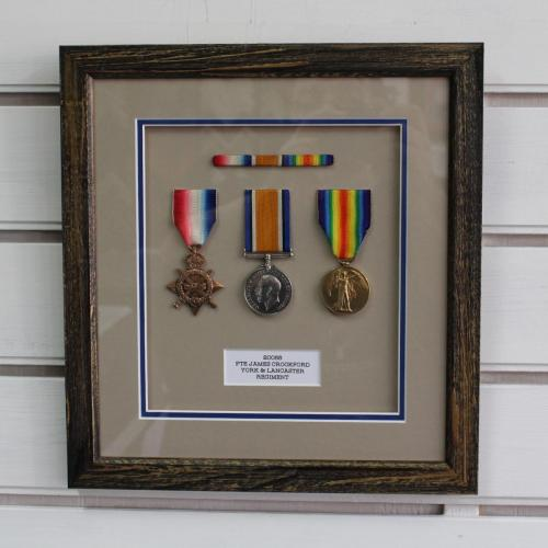 Trio of WW2 Medals