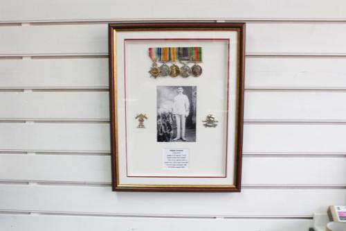 WW2 Medals with photo and badges